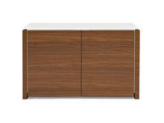 - Lacquered highboard with doors MAG | Highboard - Calligaris