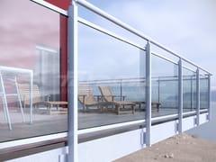 Parapetto in alluminio e vetroMAIOR COLORS PLUS - FARAONE