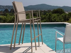 - Counter stool with armrests MAIORCA | Counter stool - Talenti