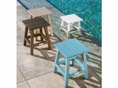 - Aluminium garden stool MAIORCA | Stool - Talenti