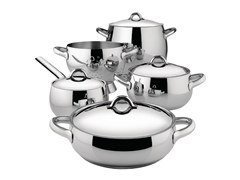 - Stainless steel Cookware set MAMI | Cookware set - ALESSI