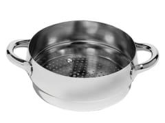 - Stainless steel steamer insert MAMI | Steamer insert - ALESSI