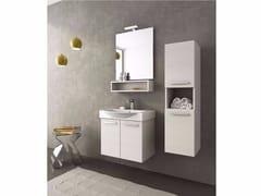 - Mobile lavabo singolo con ante MANHATTAN M1 - LEGNOBAGNO