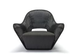 - Polyethylene garden armchair with armrests MANTA OUTDOOR - Feelgood Designs