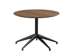 - Wooden side table with 4-star base MAREA | Side table - STUA