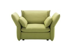 - Fabric sofa with removable cover MARIPOSA LOVE SEAT - Vitra