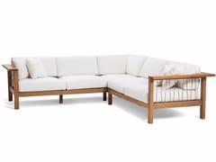 - Corner garden sofa MARO | Corner sofa - OASIQ