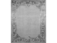 - Handmade rectangular custom rug MARQUISE SHADOW VINTAGE PEARL - EDITION BOUGAINVILLE
