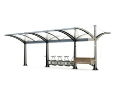 - Porch for bicycles and motorcycles MARTINA DOUBLE - Bellitalia