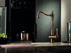 - Countertop kitchen mixer tap with swivel spout MARVEL | Kitchen mixer tap - NEWFORM