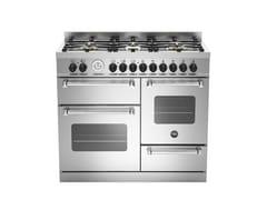 - Cucina a libera installazione professionale MASTER - MAS100 6 MFE - Bertazzoni