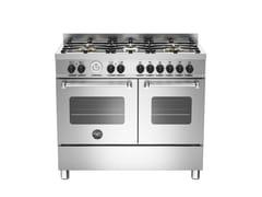- Cucina a libera installazione professionale MASTER - MAS100 6 MFE D - Bertazzoni