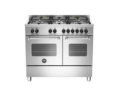 - Cucina a libera installazione professionale MASTER - MAS100 6 MFE D XE - Bertazzoni