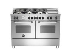 - Cucina a libera installazione professionale MASTER - MAS120 6G MFE D - Bertazzoni