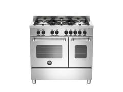 - Cucina a libera installazione professionale MASTER - MAS90 5 MFE D XE - Bertazzoni