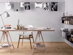 Pavimento/rivestimento in gres porcellanato effetto legnoMATCH KOMI NATURAL - CERAMICA FONDOVALLE