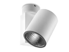 - LED Ceiling adjustable aluminium light projector MAXI BASE - LED BCN Lighting Solutions