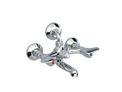 - 2 hole wall-mounted bathtub mixer MEDICO | Wall-mounted bathtub mixer - rvb