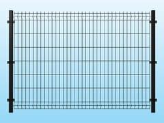 - Modular electrically welded mesh Fence MEDIUM ANTHRACITE - Siderurgica Ferro Bulloni
