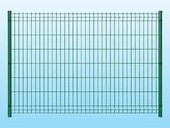 - Modular electrically welded mesh Fence MEDIUM GREEN - Siderurgica Ferro Bulloni