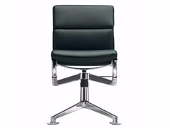 - Swivel leather task chair MEETINGFRAME+ TILT SOFT - 428 - Alias