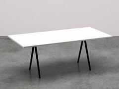 - Rectangular meeting table MEETY | Rectangular meeting table - Arper
