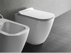 WC IN CERAMICA SENZA BRIDAMEG11 - GALASSIA