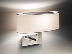 - Fabric wall lamp MEI OVAL 02 - BOVER Il. Luminació & Mobiliario