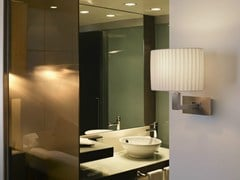 - Fabric wall lamp MEI OVAL 01 - BOVER Il. Luminació & Mobiliario