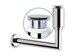 Sifone in acciaio per lavaboMELTING POT - OMP TEA