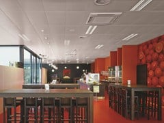 Pannelli per controsoffitto acustico in metalloMETAL CLIP-IN - ARMSTRONG BUILDING PRODUCTS