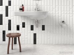 - White-paste wall tiles METRO | Wall tiles - EQUIPE CERAMICAS