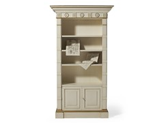 - Open lacquered wooden bookcase MG 1040 - OAK Industria Arredamenti