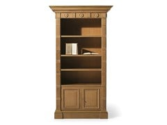 - Open oak bookcase MG 1050/ROV - OAK Industria Arredamenti