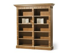 - Open oak bookcase MG 1070/ROV - OAK Industria Arredamenti