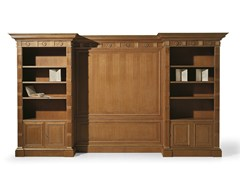 - Open oak bookcase MG 1090/ROV - OAK Industria Arredamenti