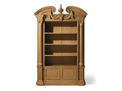 - Open oak bookcase MG 1110/ROV - OAK Industria Arredamenti