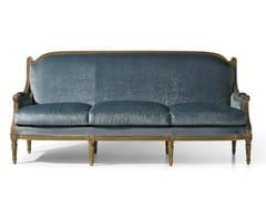 - Louis XVI 3 seater fabric sofa MG 3143 - OAK Industria Arredamenti