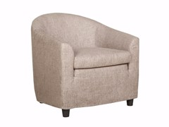 - Upholstered fabric armchair with armrests MIA | Fabric armchair - SITS