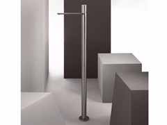 - Floor standing single handle stainless steel washbasin mixer MILANO - 3336A/3036B - Fantini Rubinetti