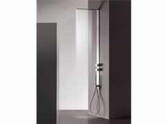 - Colonna doccia a parete in acciaio inox MILANOSLIM | Colonna doccia - Fantini Rubinetti