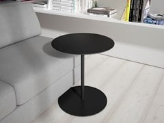 - Round MDF bistro side table MIYM-MIOM - Systemtronic