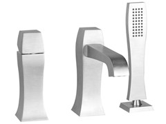 - 3 hole bathtub mixer with hand shower MIMI 31137 - Gessi
