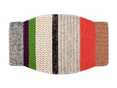 - Striped wool rug MINI CAMPANA - GAN By Gandia Blasco