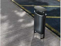 - Aluminium waste bin with lid MINIUM | Waste bin with lid - mmcité 1