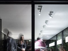 - LED adjustable metal ceiling lamp MIRA | Ceiling lamp - DAVIDE GROPPI