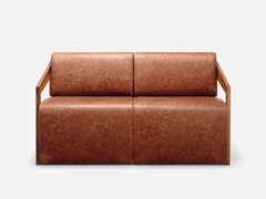 - 2 seater leather sofa MISTER | 2 seater sofa - CIZETA