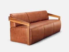 - 3 seater leather sofa MISTER | 3 seater sofa - CIZETA