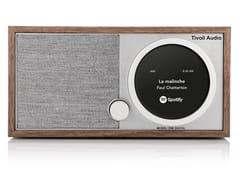 Radio Bluetooth digitale in legnoMODEL ONE DIGITAL+ - TIVOLI AUDIO COOPERATIEF U.A.