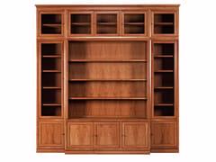 - Modular solid wood bookcase MODULO '900 | Modular bookcase - Morelato